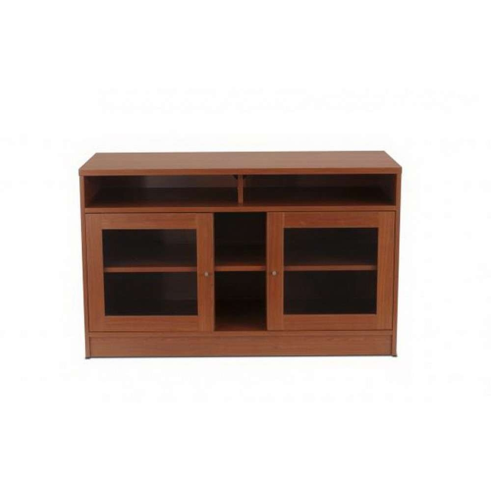 100 Series Small Tv Cabinet In Cherry, Unique Office Furniture Intended For Small Tv Cabinets (View 20 of 20)