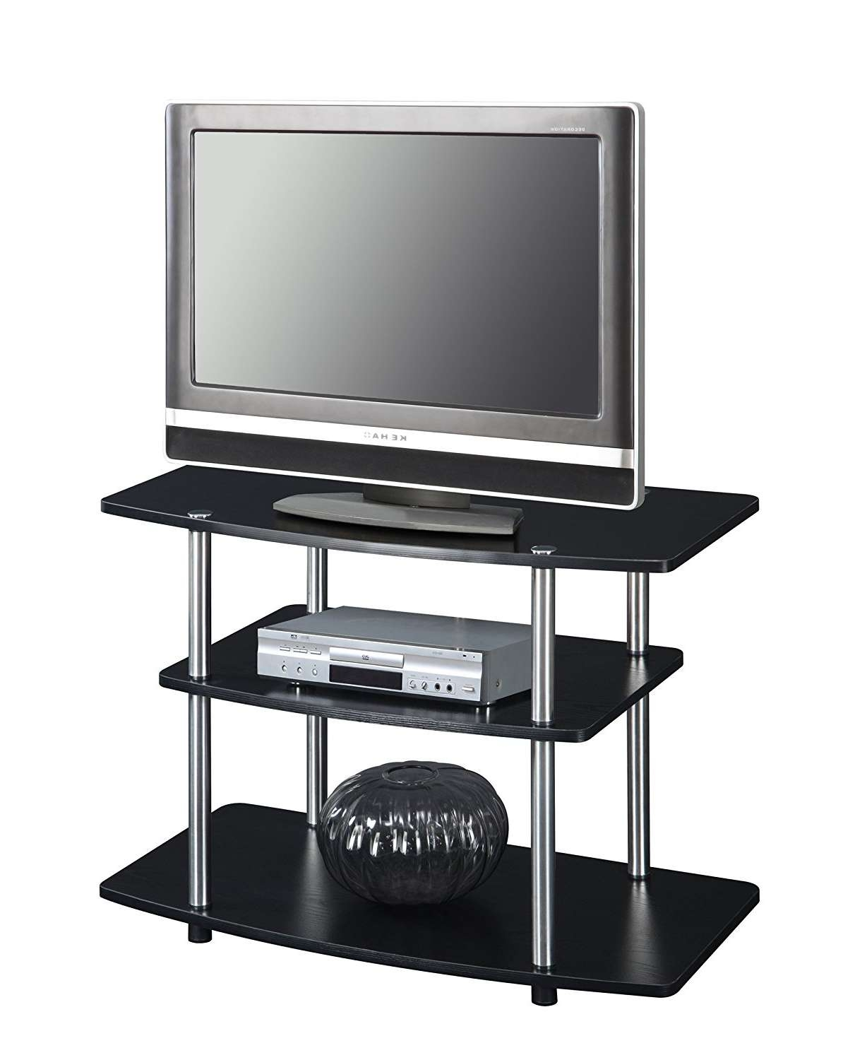 3 Tier Tv Stand With Regard To Unique Tv Stands For Flat Screens (Gallery 20 of 20)