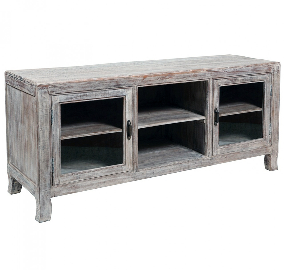 35 Supurb Reclaimed Wood Tv Stands & Media Consoles For Rustic Tv Stands (Gallery 15 of 15)