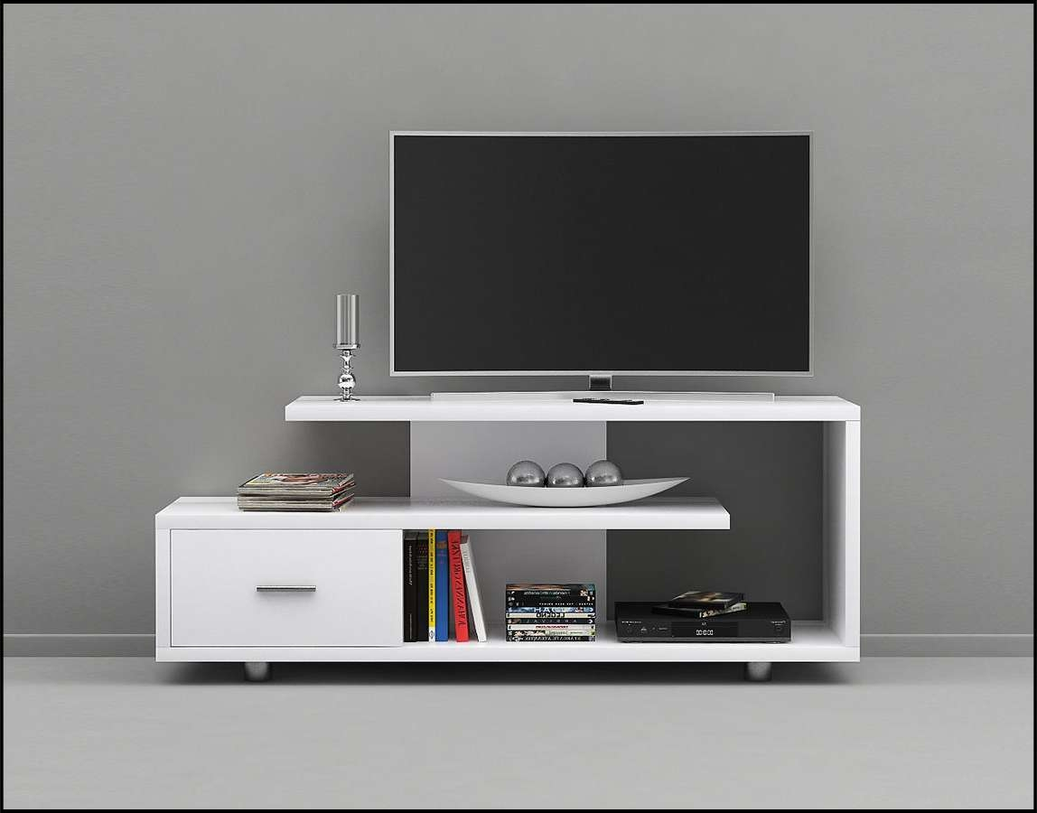 3D Monarch Specialties 2573 White Tv Stand | Cgtrader Regarding White Tv Stands (View 1 of 15)