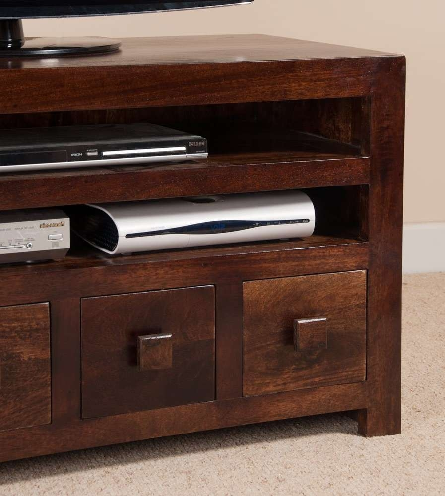 "4 Drawer Media Unit | 37"" Tv Stand 