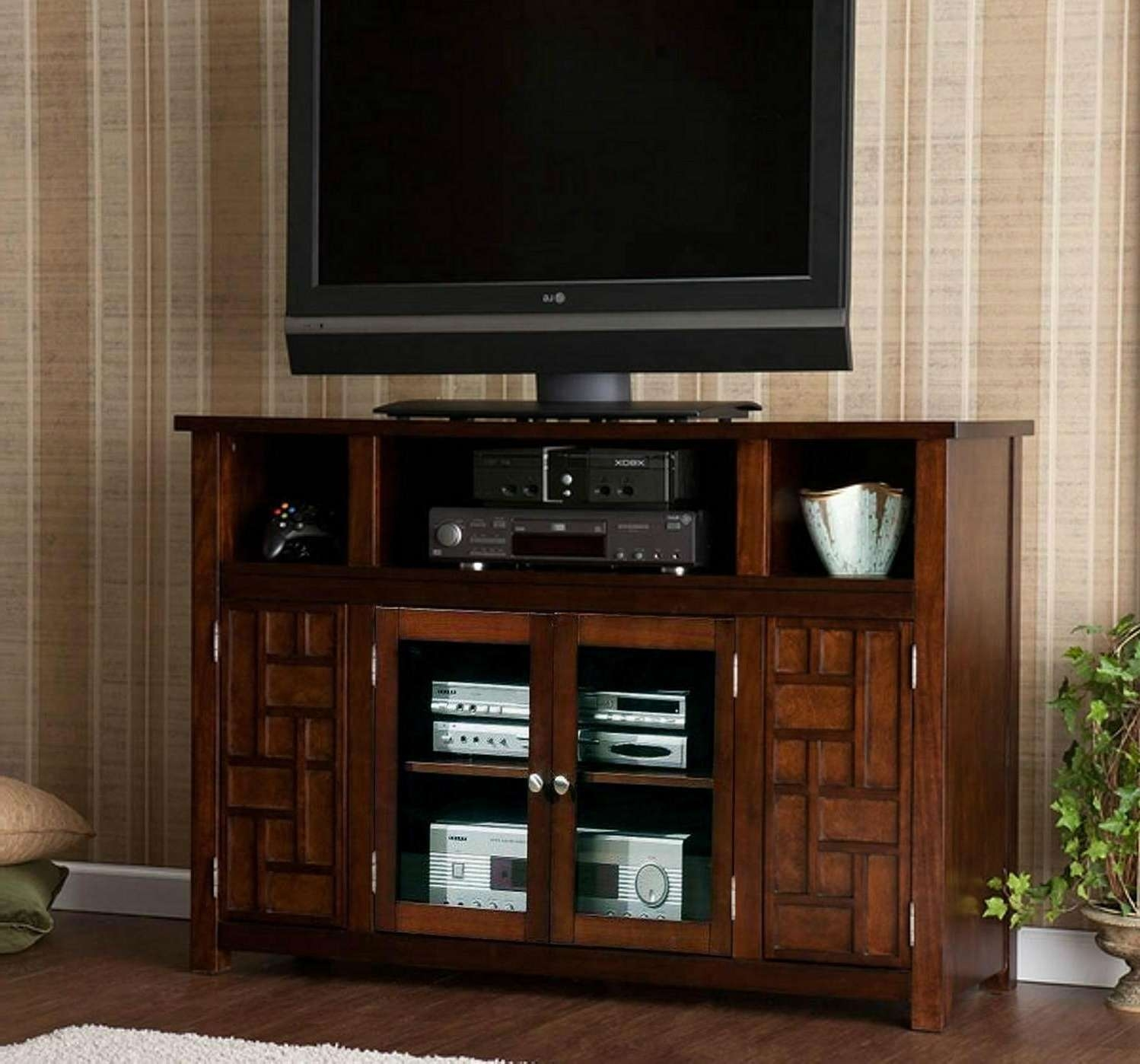 Ordinaire 48 Inch Walnut Funky Doors Retro Tv Cabinet Wood Furniture U2013 Wd With Regard  To Funky