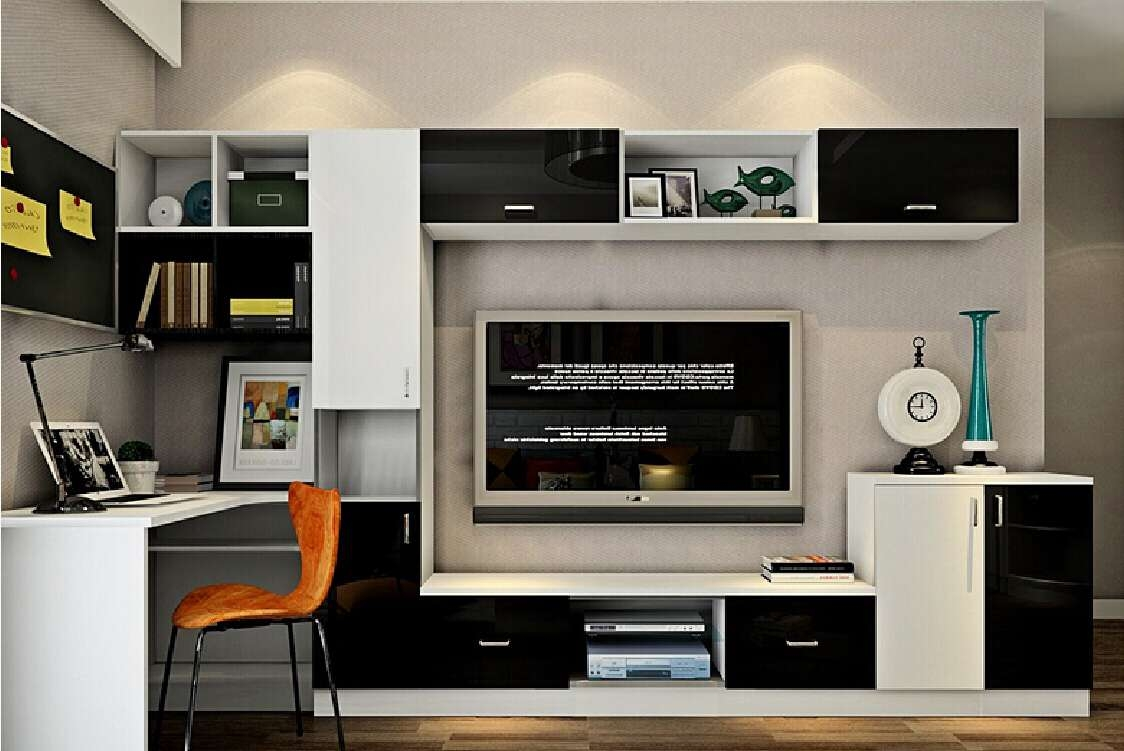 49 Staggering Computer Desk Tv Stand Combo Photo Ideas Intended For Stands