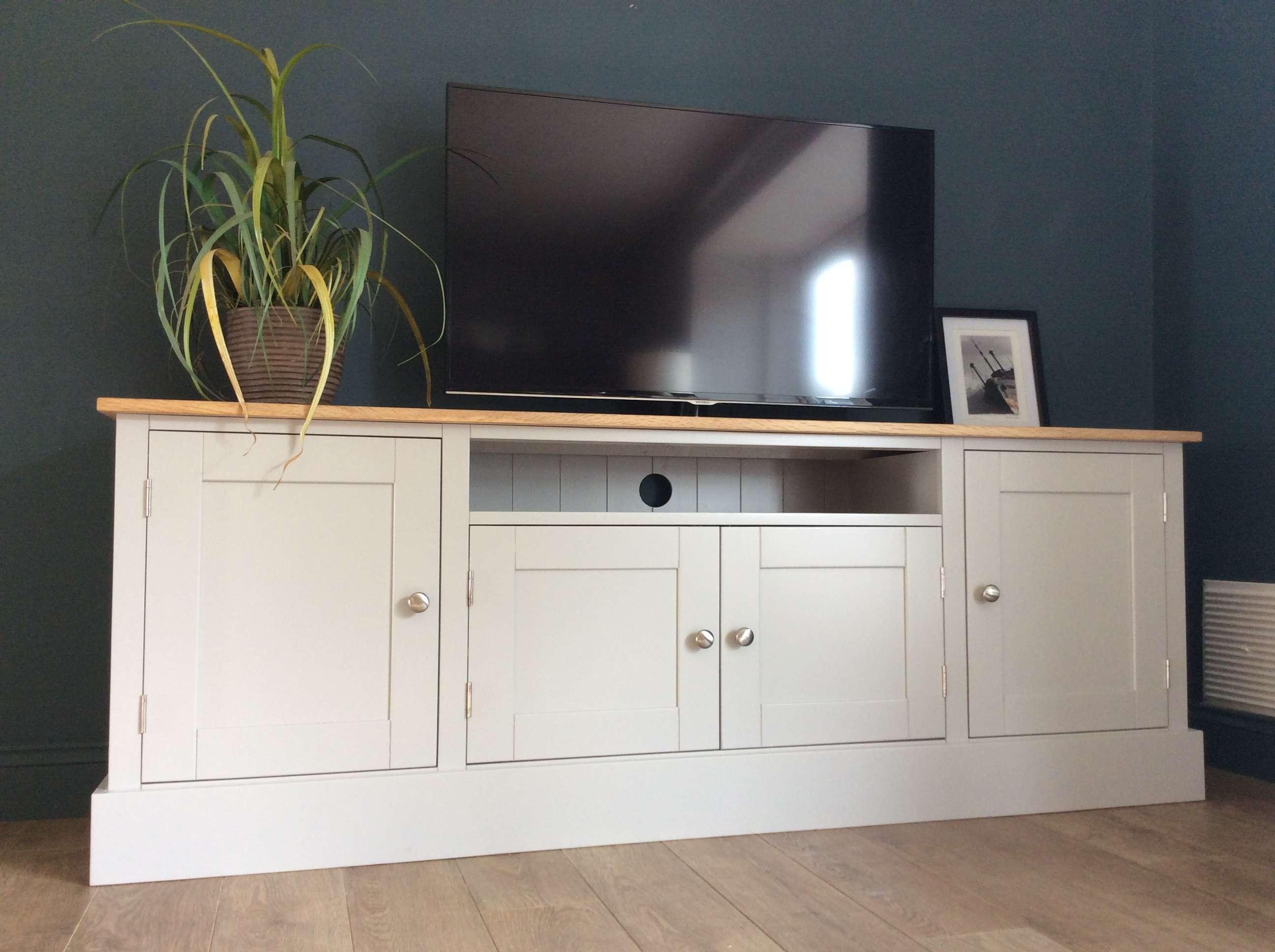 6ft Solid Pine & Oak Tv Cabinet – Nest At Number 20 Inside Oak Tv Cabinets (View 19 of 20)