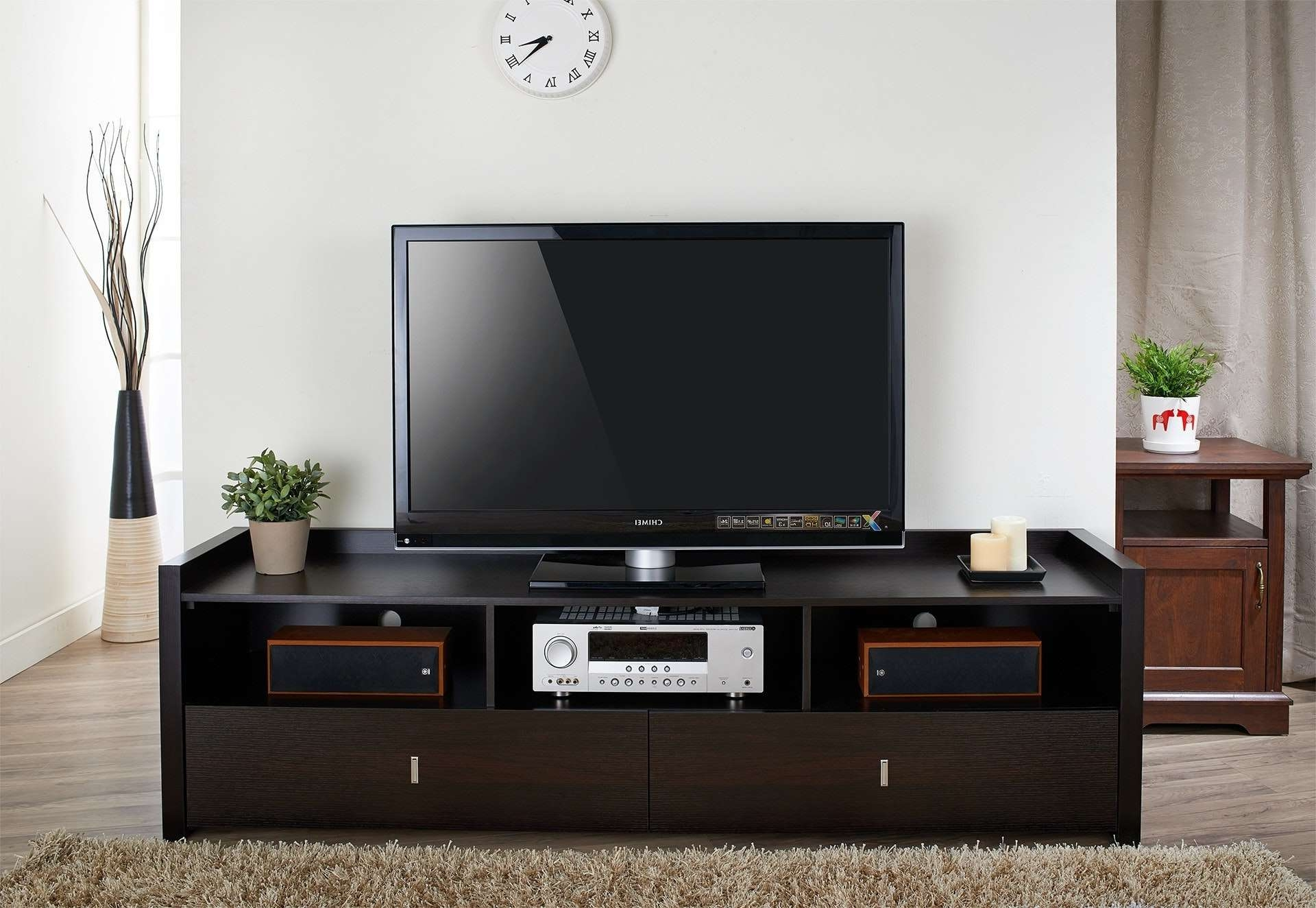 80 Inch Tv Stand Home Design Amish Furniture With Fireplace Stands For 80 Inch Tv Stands (View 1 of 15)