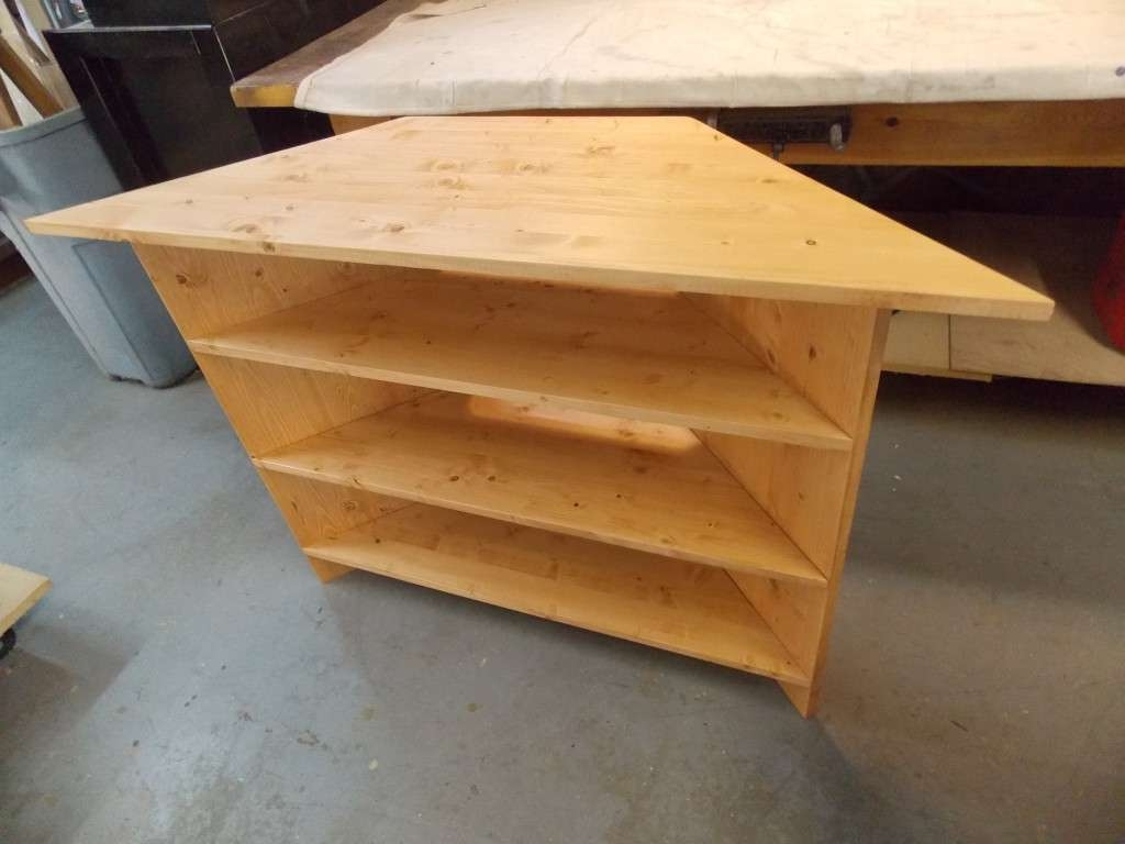 A Corner Tv Stand Made To Fit | Minwax Blog Regarding Pine Corner Tv Stands (View 13 of 15)