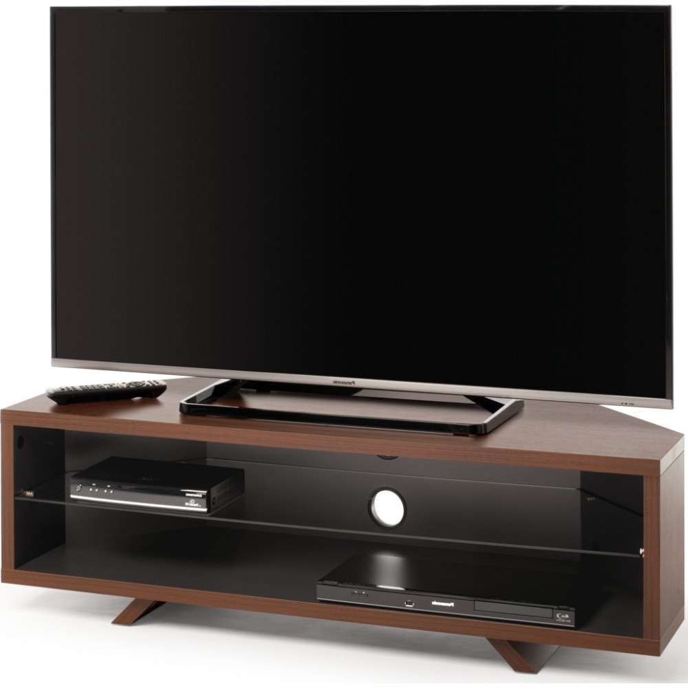 Accommodate All Your A/v Requirements; Suitable For Displays Up To 55 Inside Walnut Corner Tv Stands (View 2 of 15)
