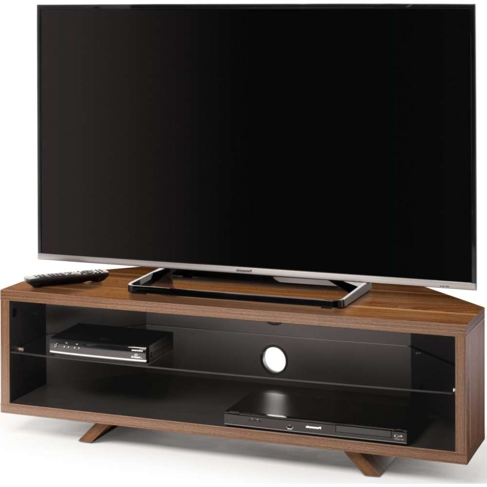 Accommodate All Your A/v Requirements; Suitable For Displays Up To 55 With Dark Wood Tv Stands (View 1 of 15)