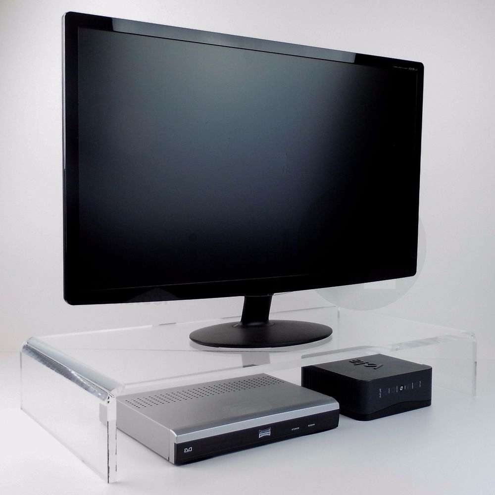Acrylic Tv Stand | Ebay Intended For Acrylic Tv Stands (View 5 of 15)