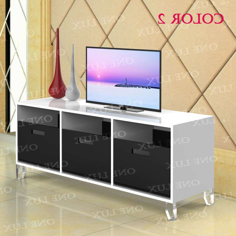 Acrylic Tv Stand Table,luite Cabinet With Removable Trays,perspex Pertaining To Acrylic Tv Stands (View 2 of 15)