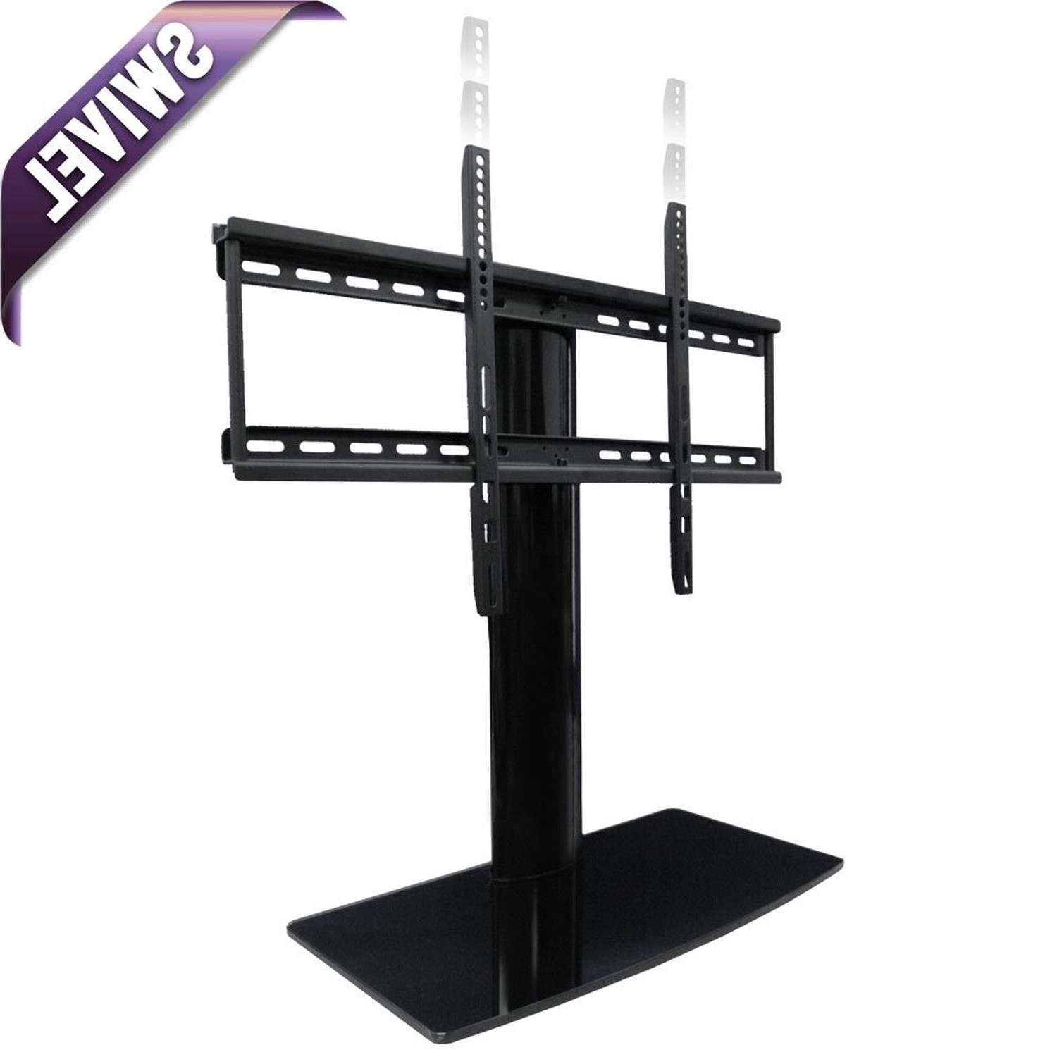 Aeon 60111 – Universal Tabletop Tv Stand With Swivel And Height Within Tabletop Tv Stands (View 12 of 15)