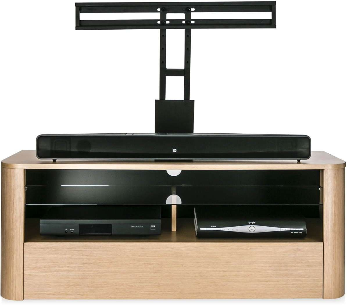 Alphason Adh1260 Lo+bkt Tv Stands Intended For Tv Stands Cantilever (View 10 of 15)