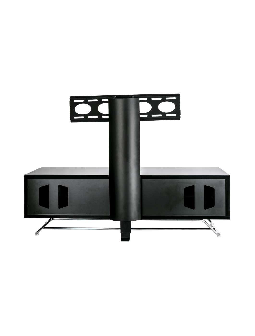 Alphason Chromium Cantilever Tv Stand Cro2 1200bkt Bk | 121 Tv Mounts Regarding White Cantilever Tv Stands (View 3 of 20)