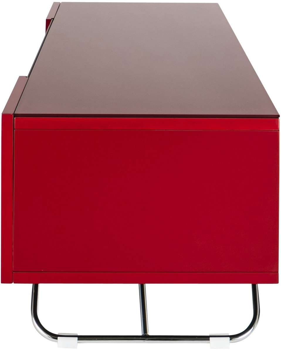 Alphason Cro2 1200Cb Red Tv Stands In Red Tv Stands (View 1 of 15)