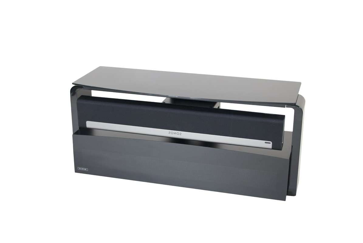 "Alphason Sonos Playbar Tv Stand For Tvs Up To 55"" & Reviews With Sonos Tv Stands (View 3 of 15)"
