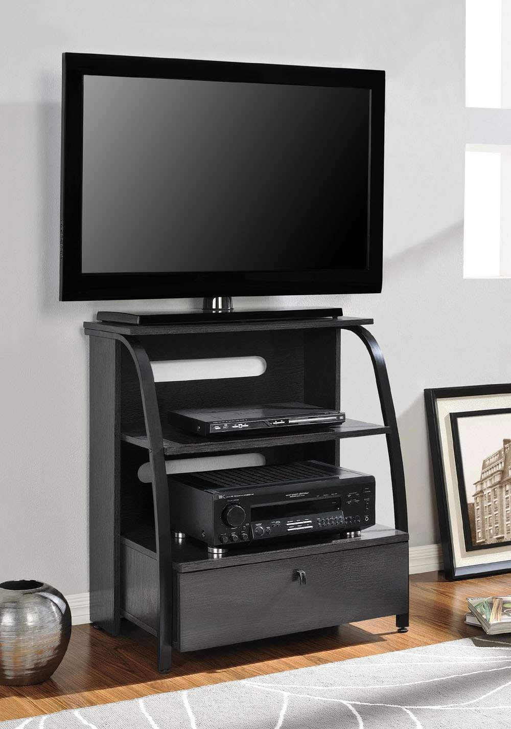Altra Essex Highboy Tv Stand With Highboy Tv Stands (View 1 of 15)
