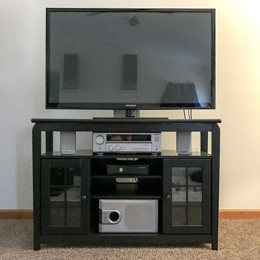 Featured Photo of Corner Tv Stands 46 Inch Flat Screen