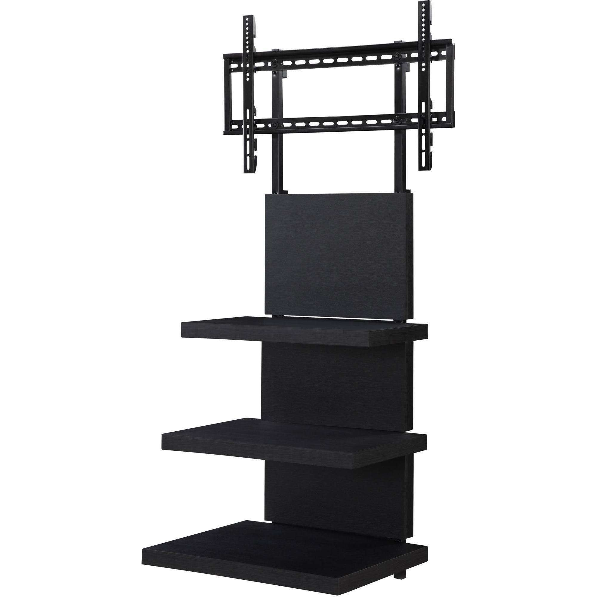 Ameriwood Home Elevation Altramount Tv Stand For Tvs Up To 60 With Wall Mounted Tv Stands With Shelves (View 3 of 15)