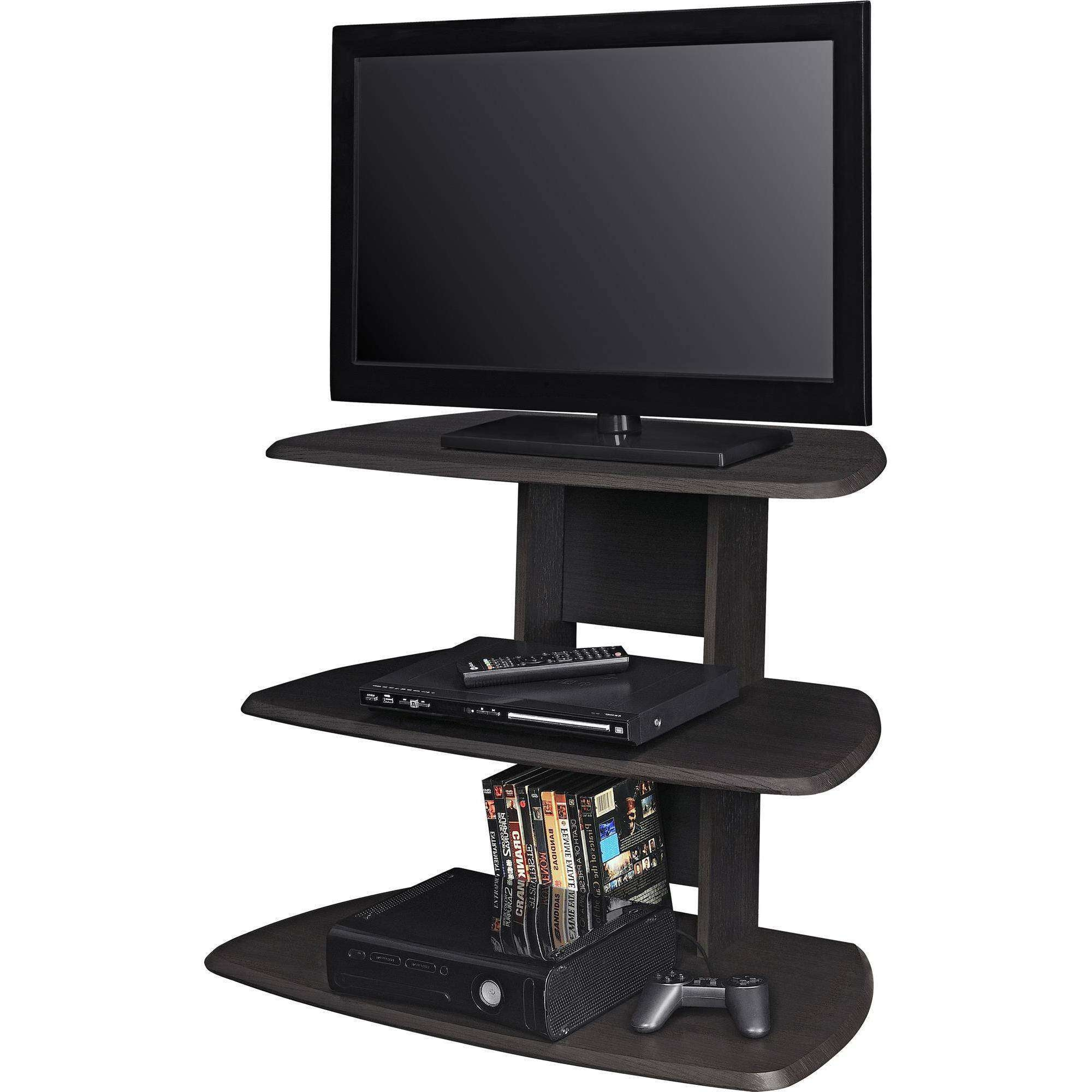 "Ameriwood Home Galaxy Ii Tv Stand For Tvs Up To 32"" Wide, Espresso Inside 32 Inch Tv Stands (View 1 of 15)"