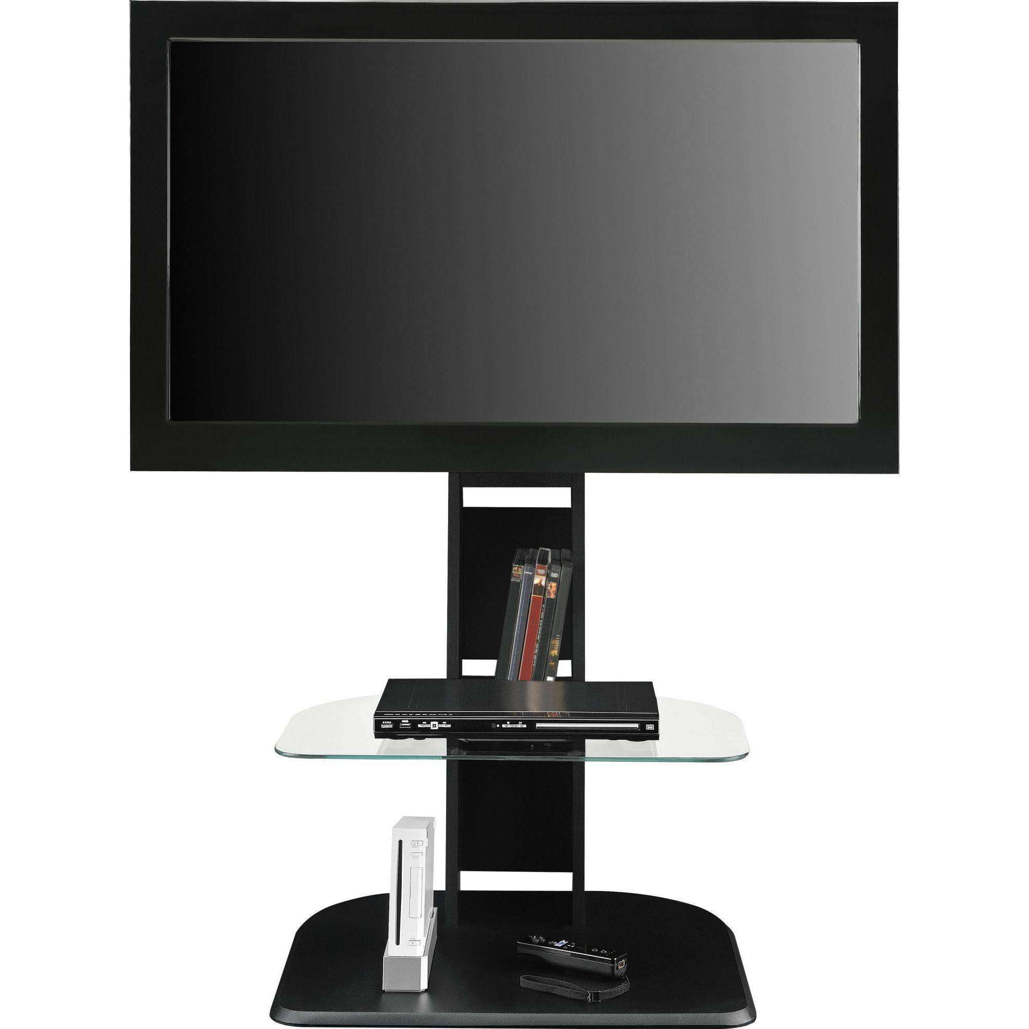 "Ameriwood Home Galaxy Tv Stand With Mount For Tvs Up To 50"", Black Pertaining To Tv Stands For 50 Inch Tvs (View 1 of 15)"