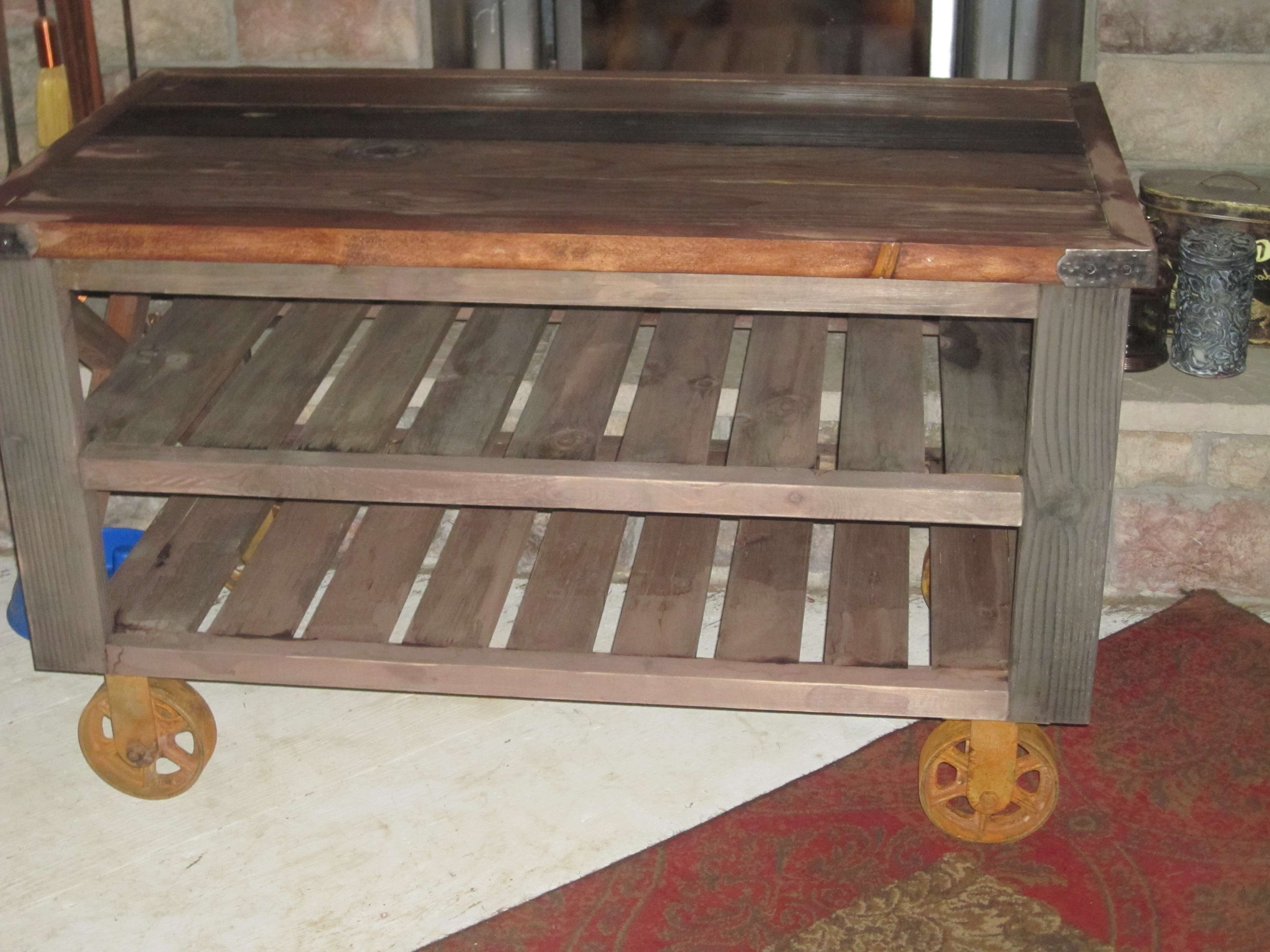 Ana White | Tv Stand – Diy Projects Intended For Rustic White Tv Stands (View 3 of 20)