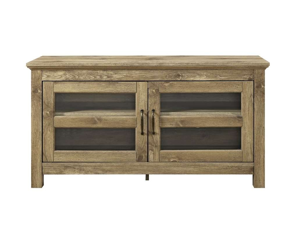 "Andover Mills Dunmore 44"" Wood Tv Stand & Reviews 