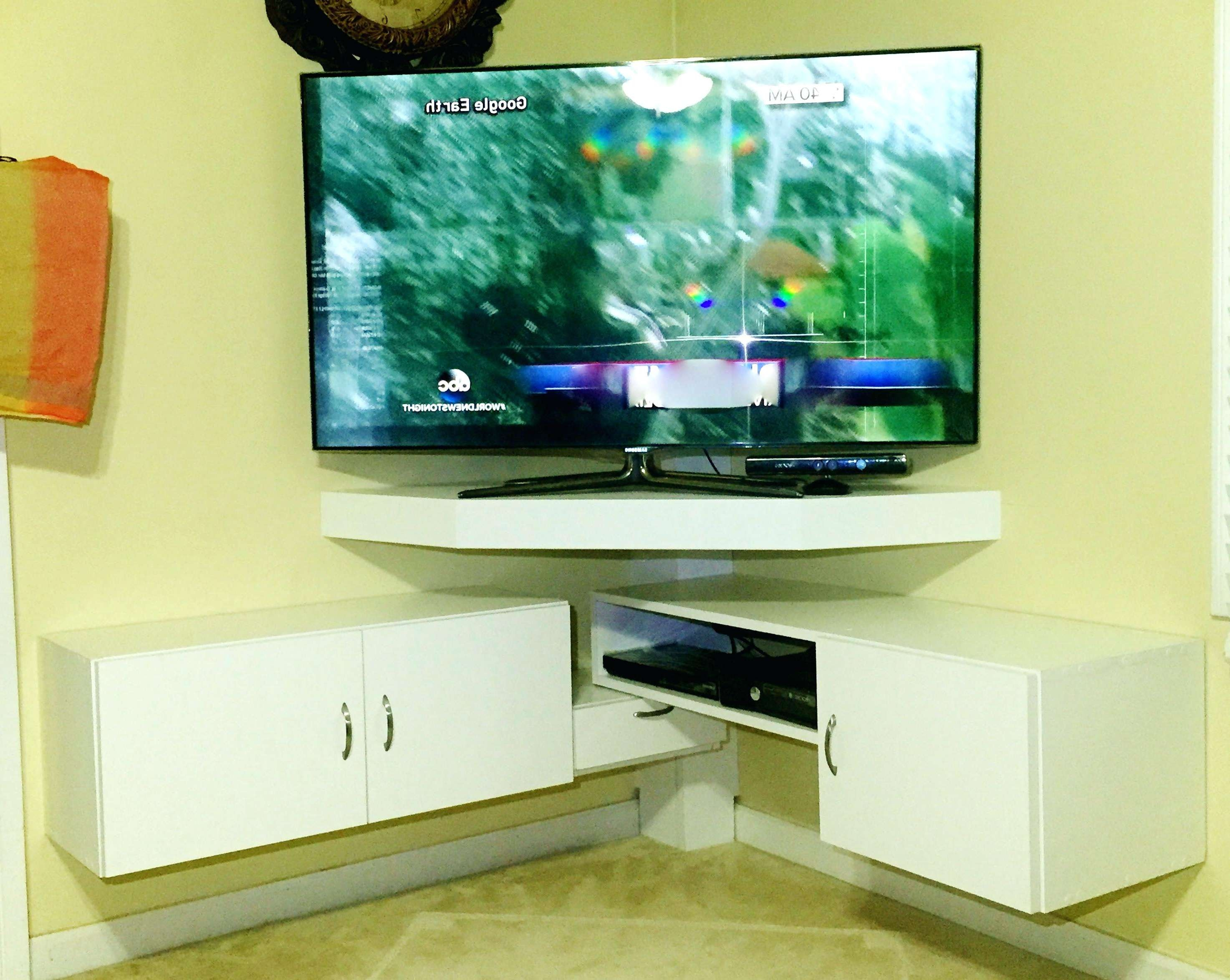 Articles With Glass Corner Tv Stands For Flat Screen Tvs Tag With Corner Tv Cabinets For Flat Screen (View 7 of 20)