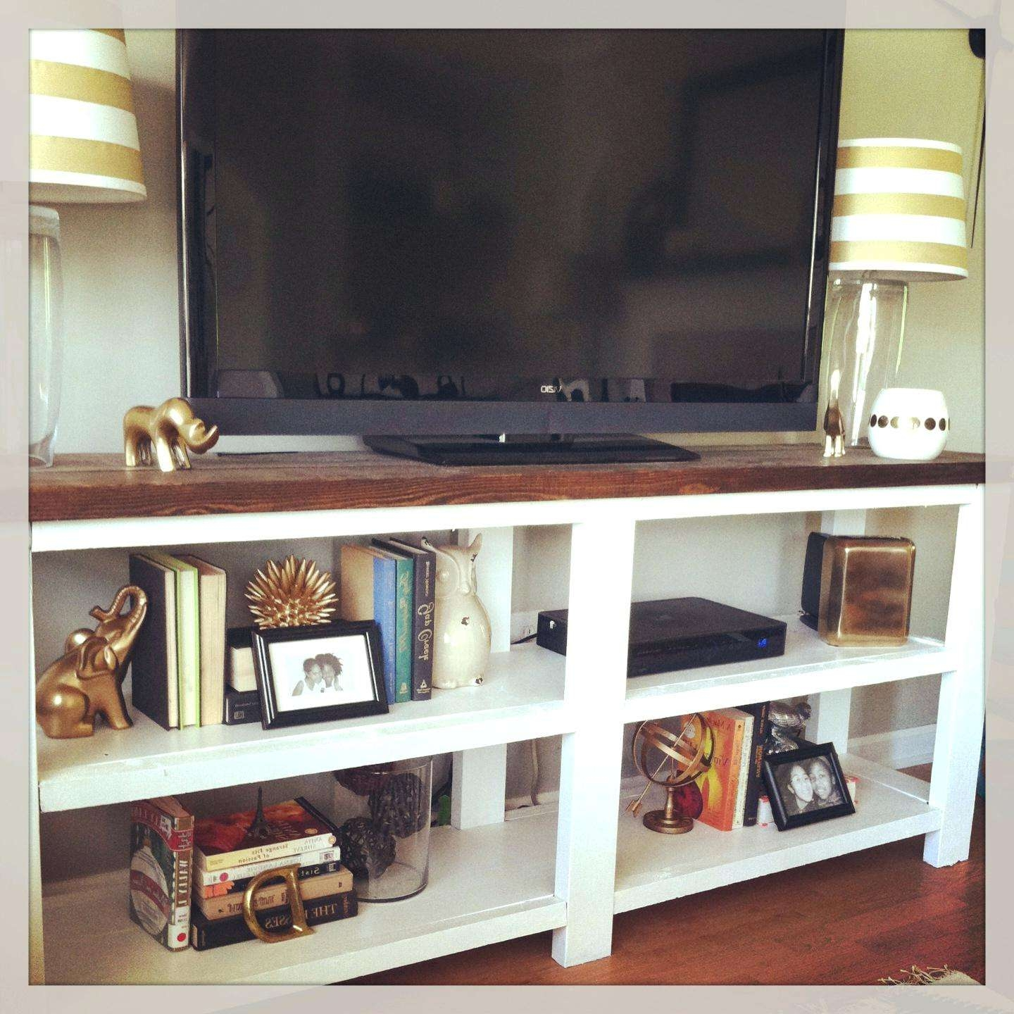 Articles With Rustic White Wood Tv Stand Tag: Rustic White Tv With Rustic White Tv Stands (View 6 of 20)