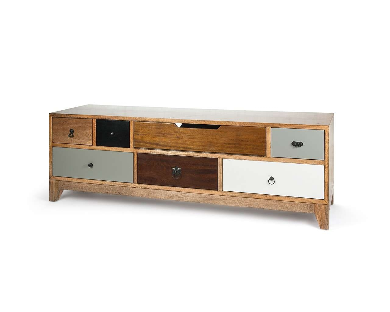 Artisan Tv Stand – Mango Wood Television Stand – Puji Furniture Pertaining To Mango Wood Tv Stands (View 6 of 15)