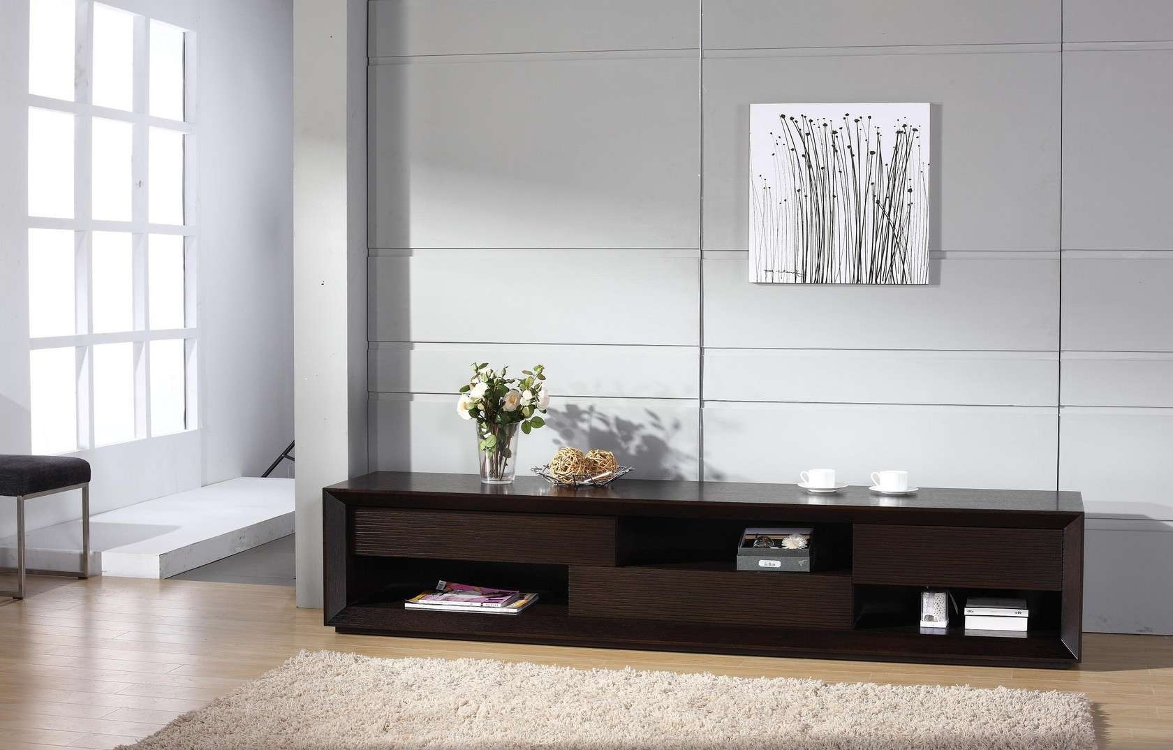 Assym Tv Stand, Beverly Hills Furniture Inc (View 2 of 20)