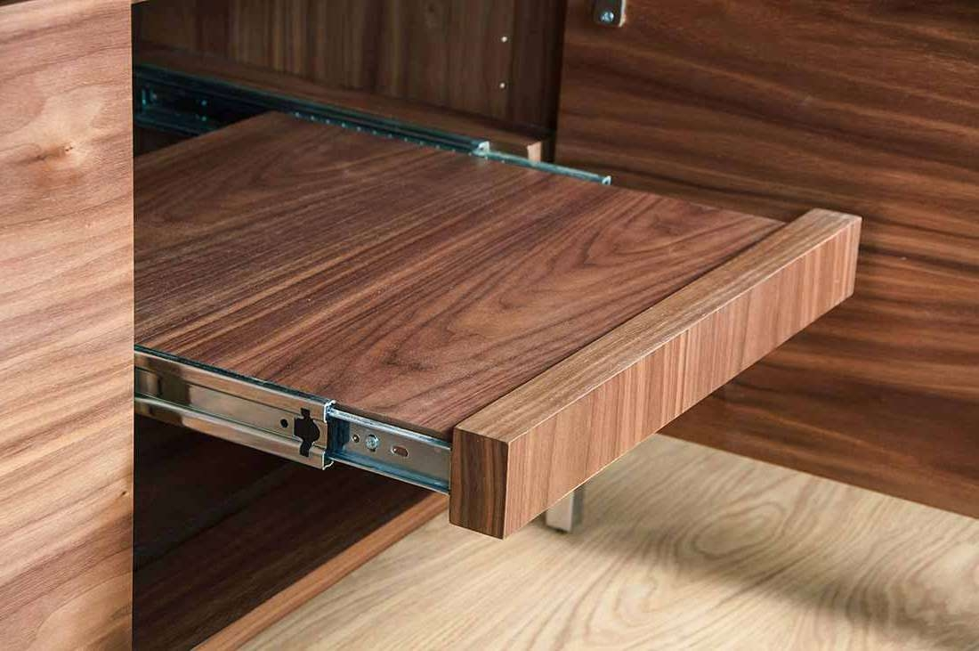 Av Cabinet Contemporary Home Cinema Tv Stand Profile Quattro Pertaining To Turntable Tv Stands (View 2 of 15)