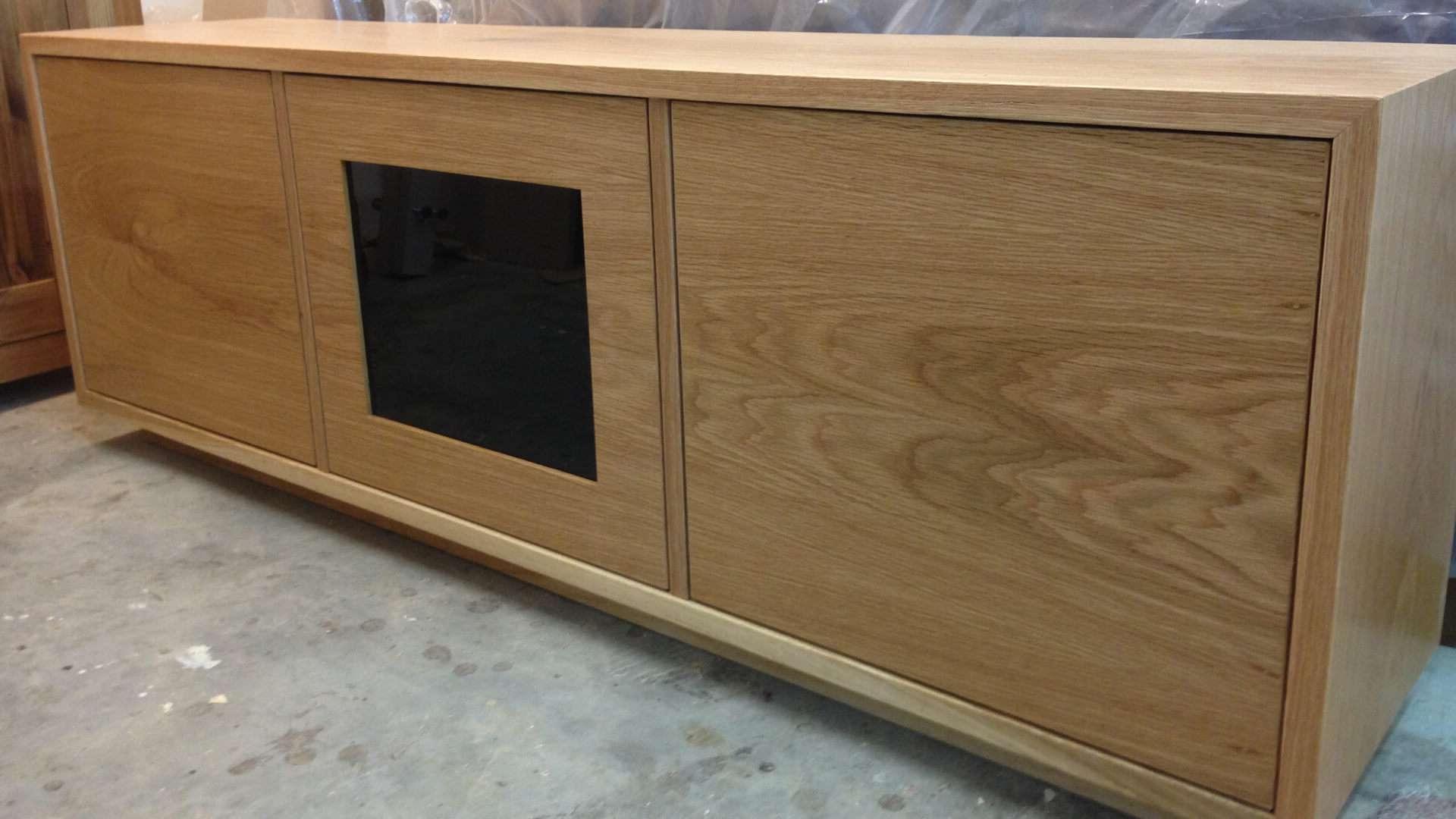 Av Furniture – Contemporary Oak Tv Unit – Av Soul With Regard To Contemporary Oak Tv Cabinets (View 1 of 20)