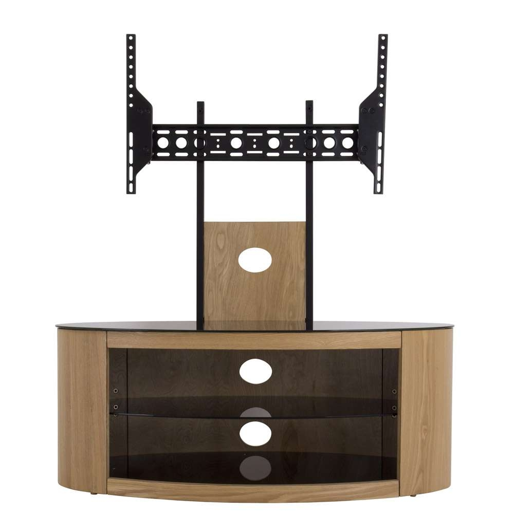 "Avf Buckingham 1000 Tv Stand For Tvs Up To 65"", Oak 