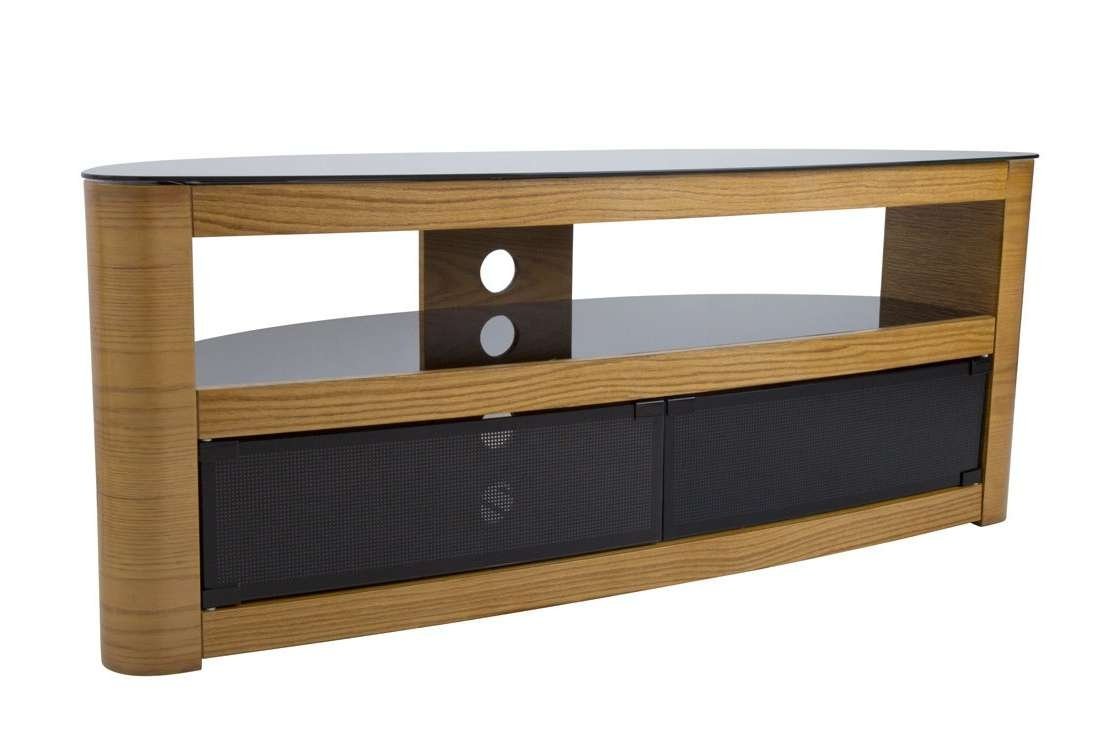 Avf Burghley Fs1250 Oak Tv Stand Inside Avf Tv Stands (View 4 of 15)