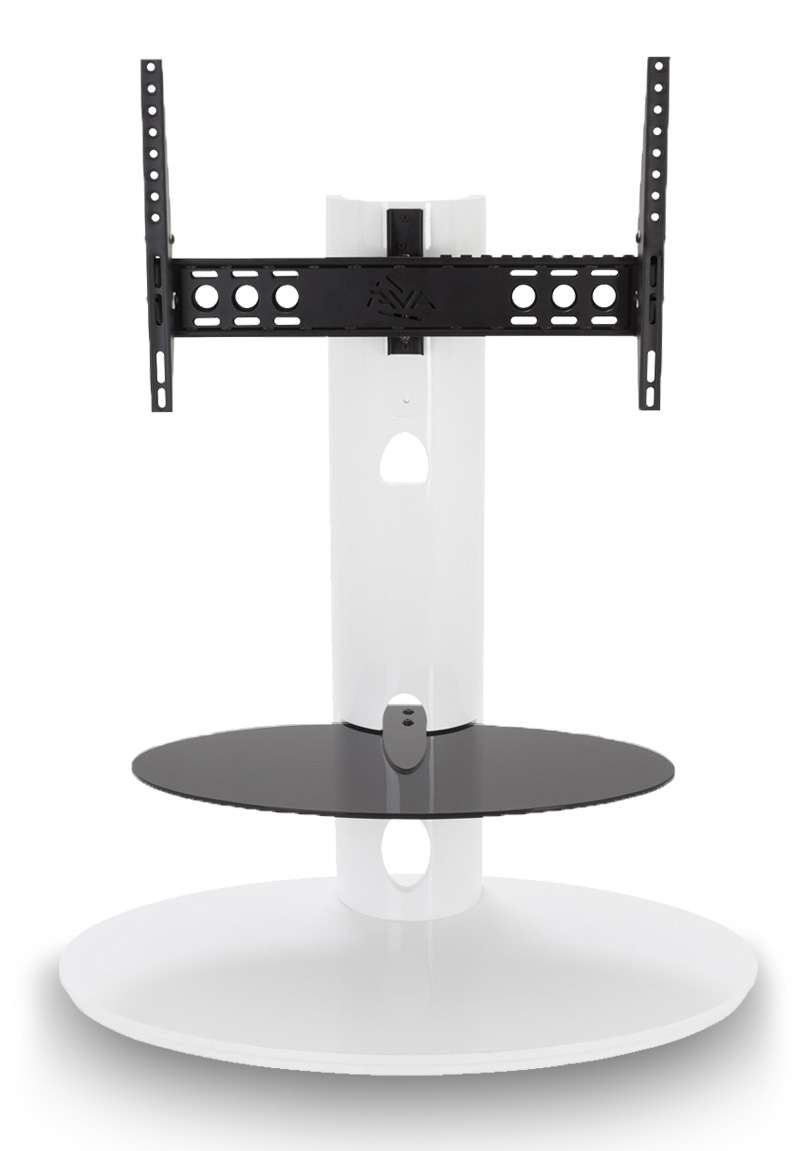 "Avf Chepstow Corner Cantilever Tv Stand Wood For 32"" To 65"" Led For White Cantilever Tv Stands (View 8 of 20)"