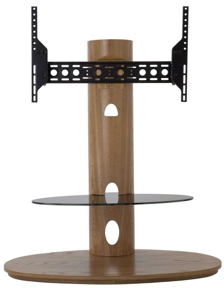 Avf Chepstow Oak Cantilever Tv Stand For Cantilever Glass Tv Stands (View 18 of 20)