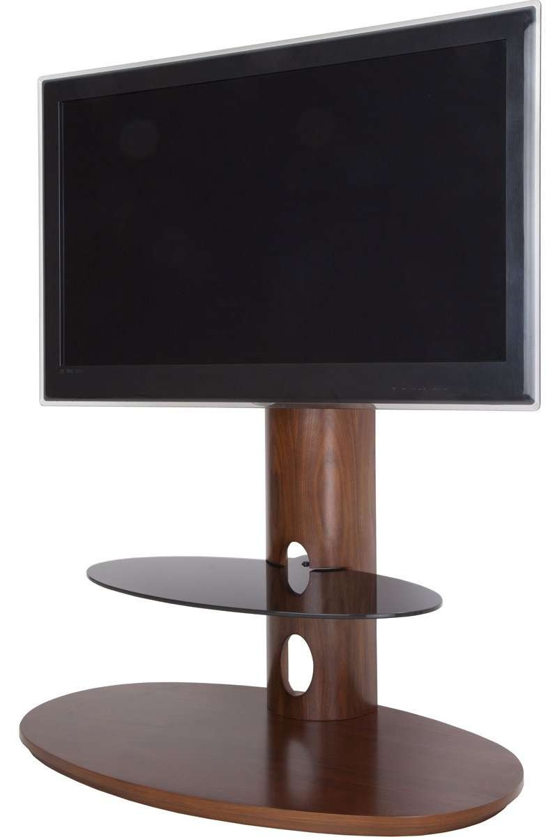 Avf Chepstow Walnut Cantilever Tv Stand In Avf Tv Stands (View 3 of 15)