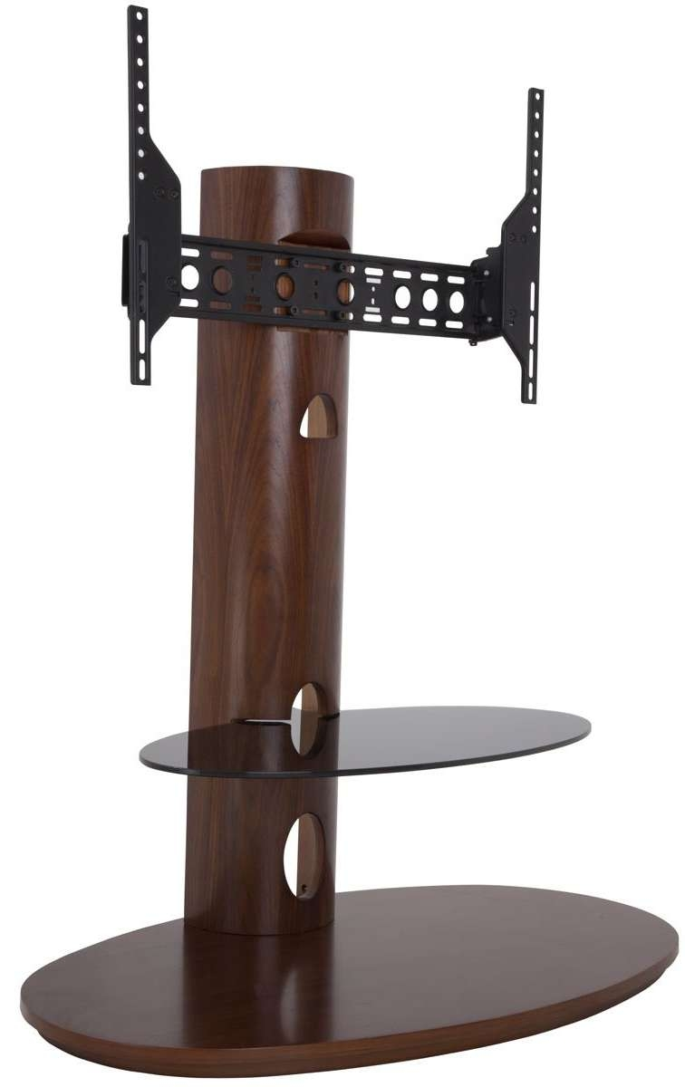 Avf Chepstow Walnut Cantilever Tv Stand Inside Cantilever Tv Stands (View 4 of 15)