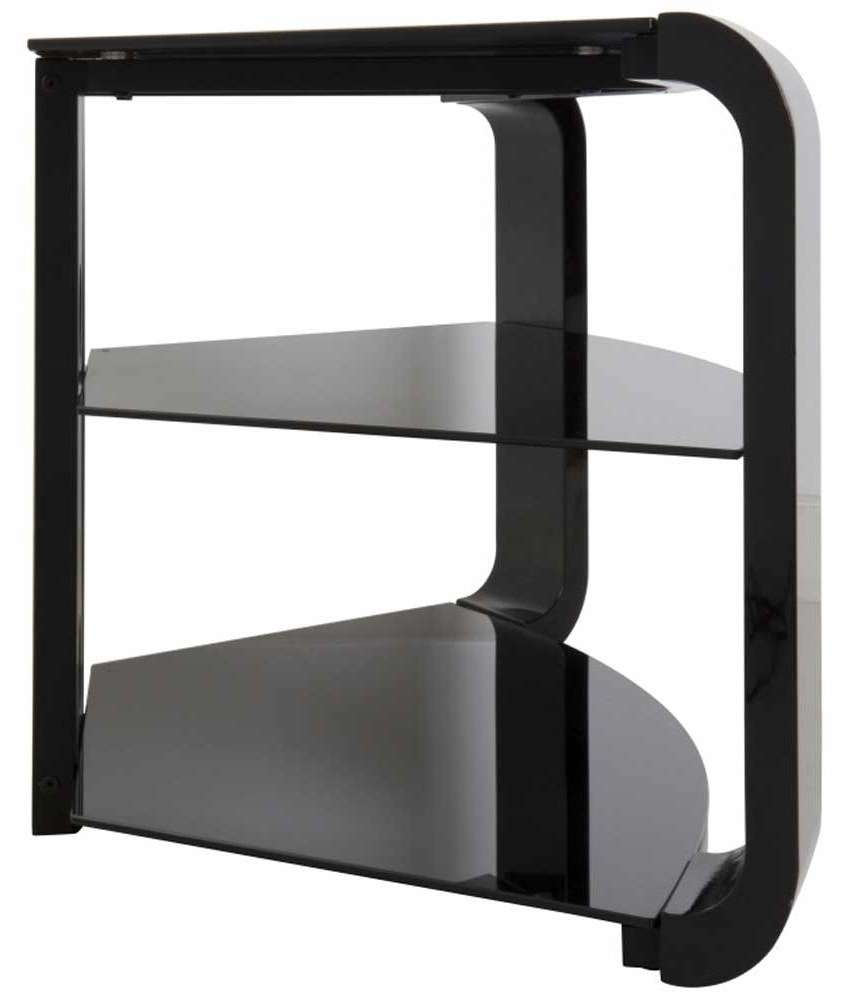 Avf Fs1174Cob Como Black Tv Stand Within Como Tv Stands (View 1 of 15)