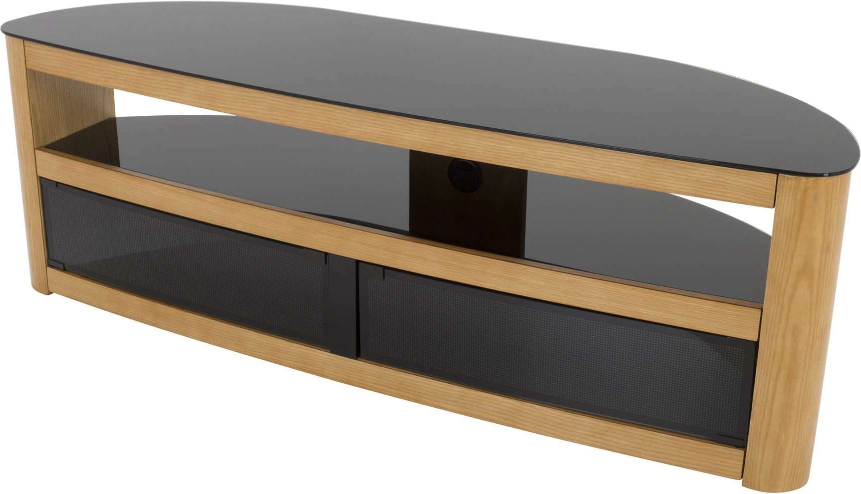 Avf Fs1500Buro Tv Stands Pertaining To Tv Stands In Oak (View 3 of 15)