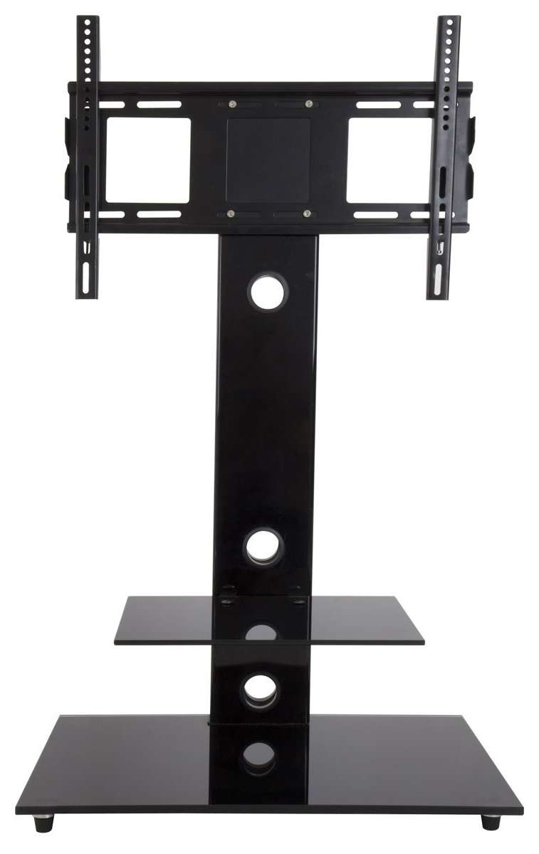 Avf Fsl700leb Lesina Black Cantilever Tv Stand Pertaining To Avf Tv Stands (View 2 of 15)