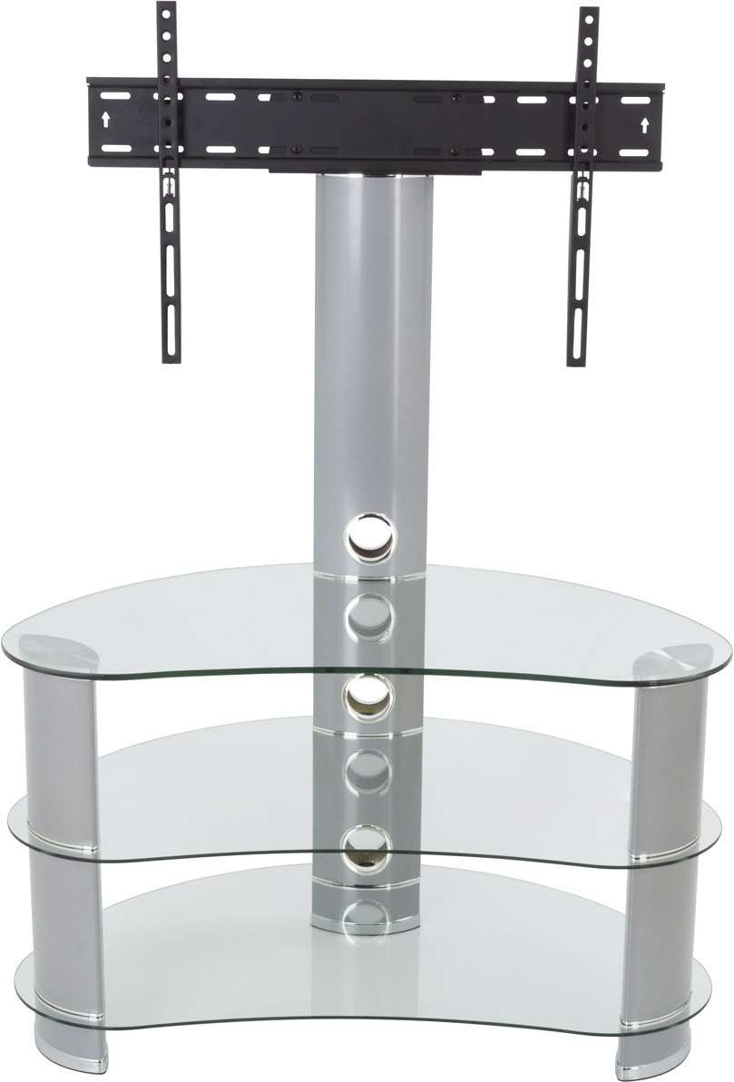 Avf Fsl850Curcs Tv Stands In Cantilever Glass Tv Stands (View 4 of 20)
