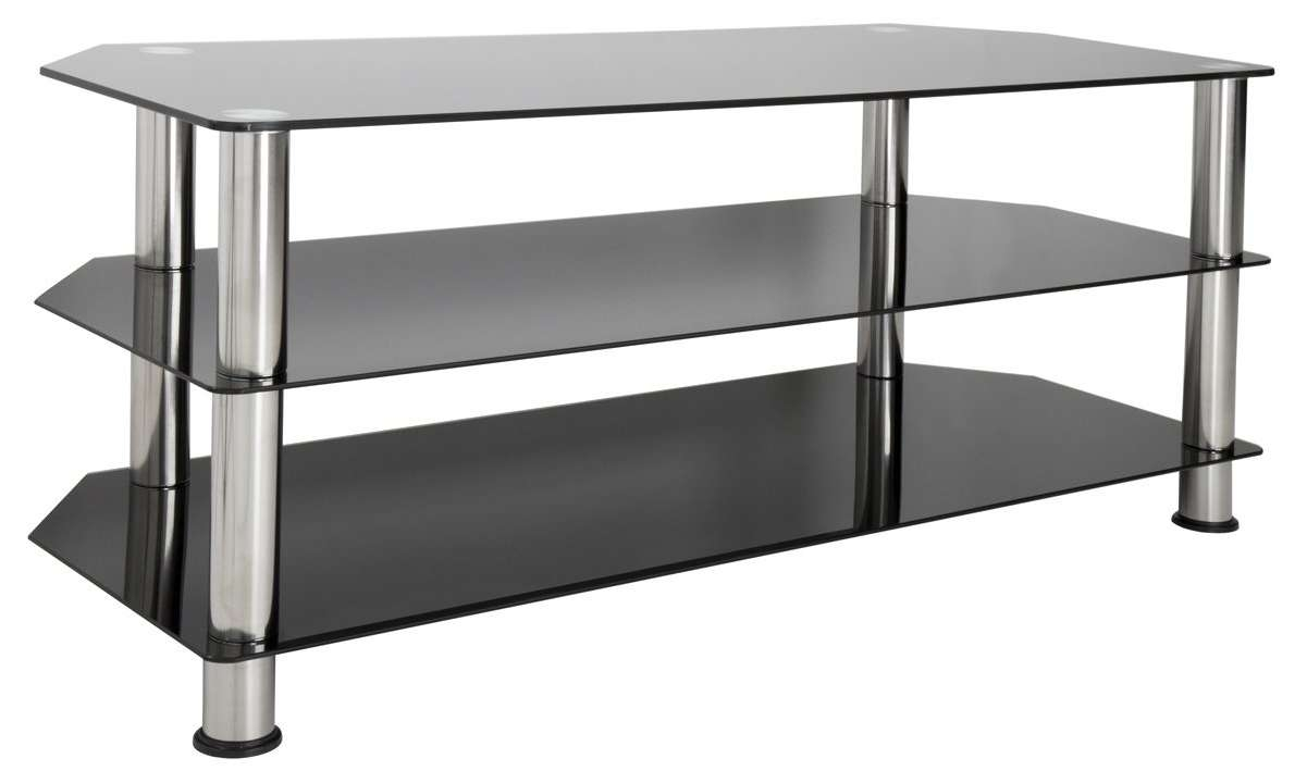 Avf Sdc1140 Tv Stands With Regard To White Glass Tv Stands (View 10 of 15)