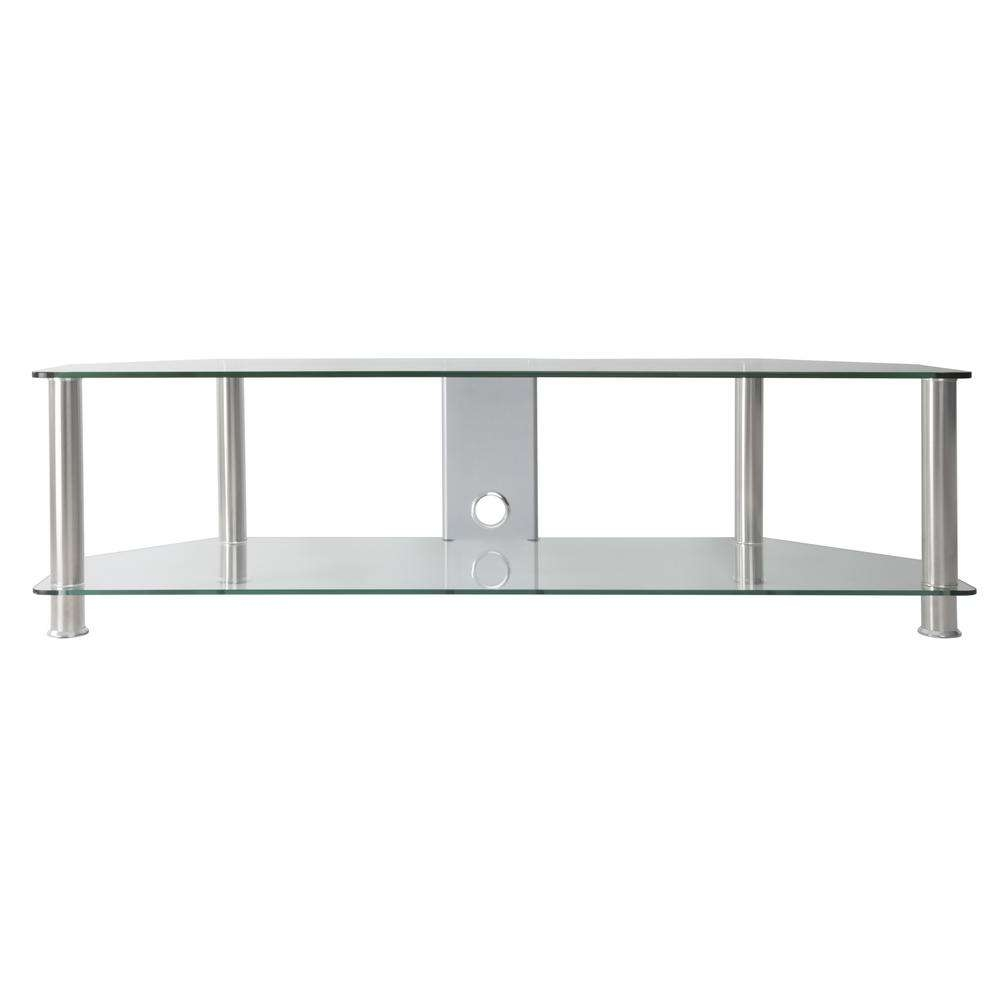 Avf Sdc1400Cmcc A Tv Stand With Cable Management For Up To 65 In With Regard To Clear Glass Tv Stands (View 5 of 15)