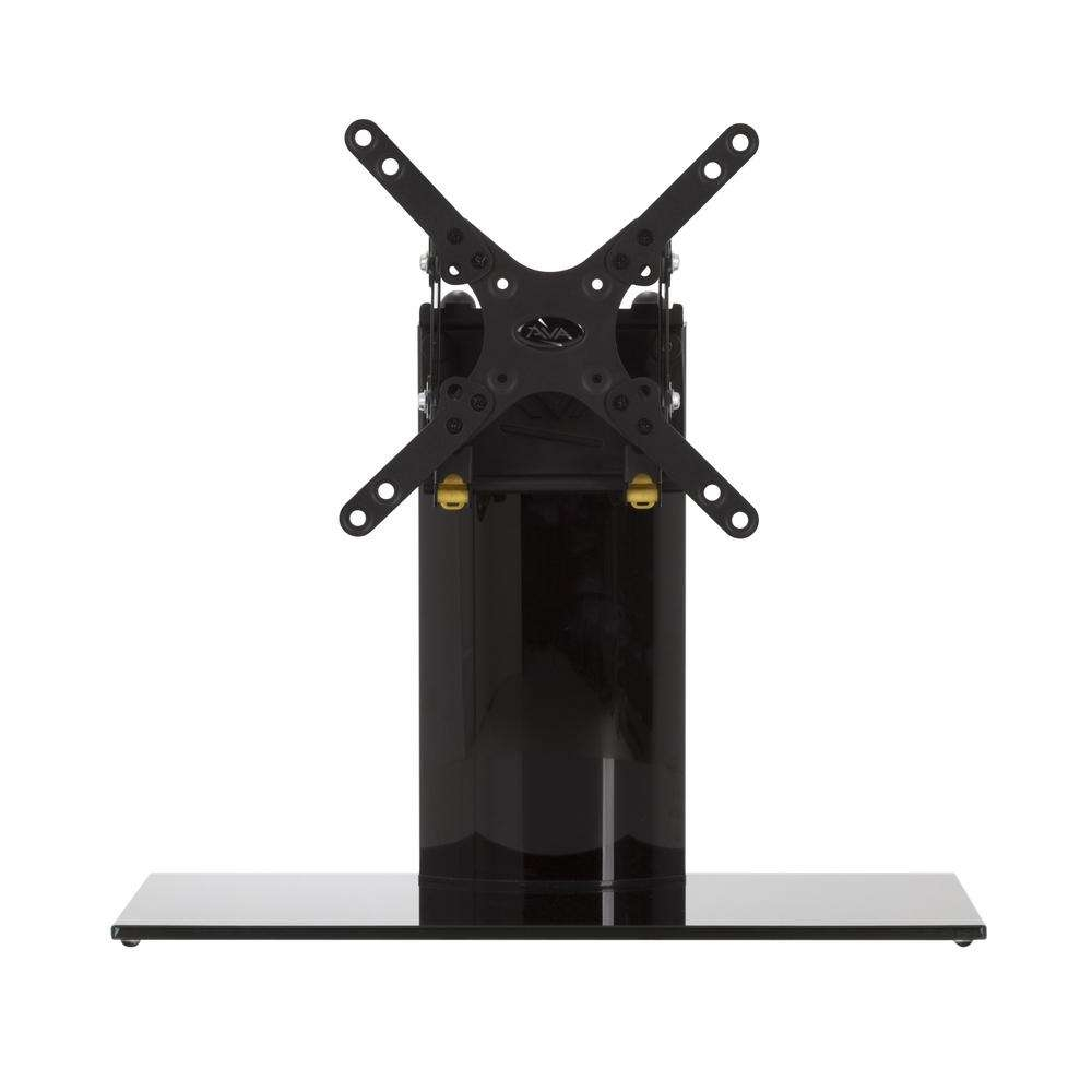 Avf Universal Table Top Tv Stand/base Adjustable Tilt For Most Tvs Intended For Tabletop Tv Stands (View 2 of 15)