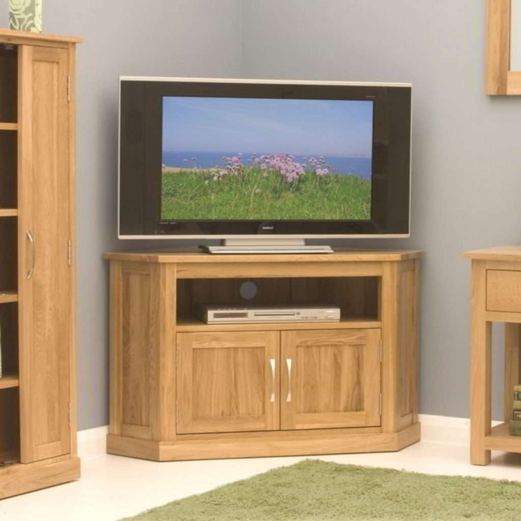 Awesome Oak Corner Tv Stands For Flat Screens – Mediasupload Within Oak Corner Tv Stands For Flat Screens (View 1 of 15)