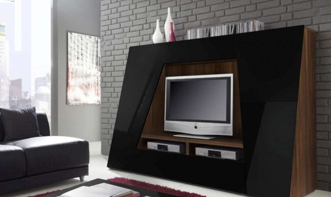 Awesome Unusual Tv Stands With Led Tv Above Two Dvd Player Front In Luxury Tv Stands (View 2 of 15)