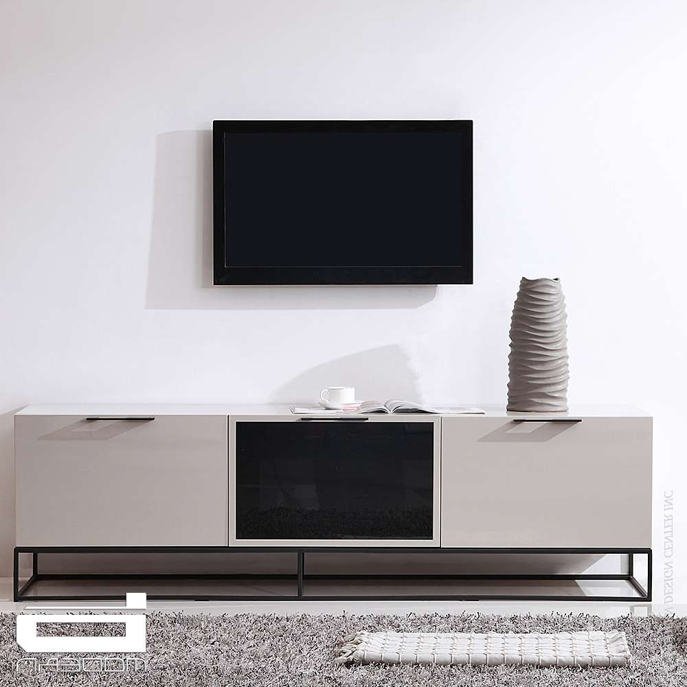 B Modern Animator, Cream & Tv Stands | Metropolitandecor Throughout Cream Tv Cabinets (View 1 of 20)