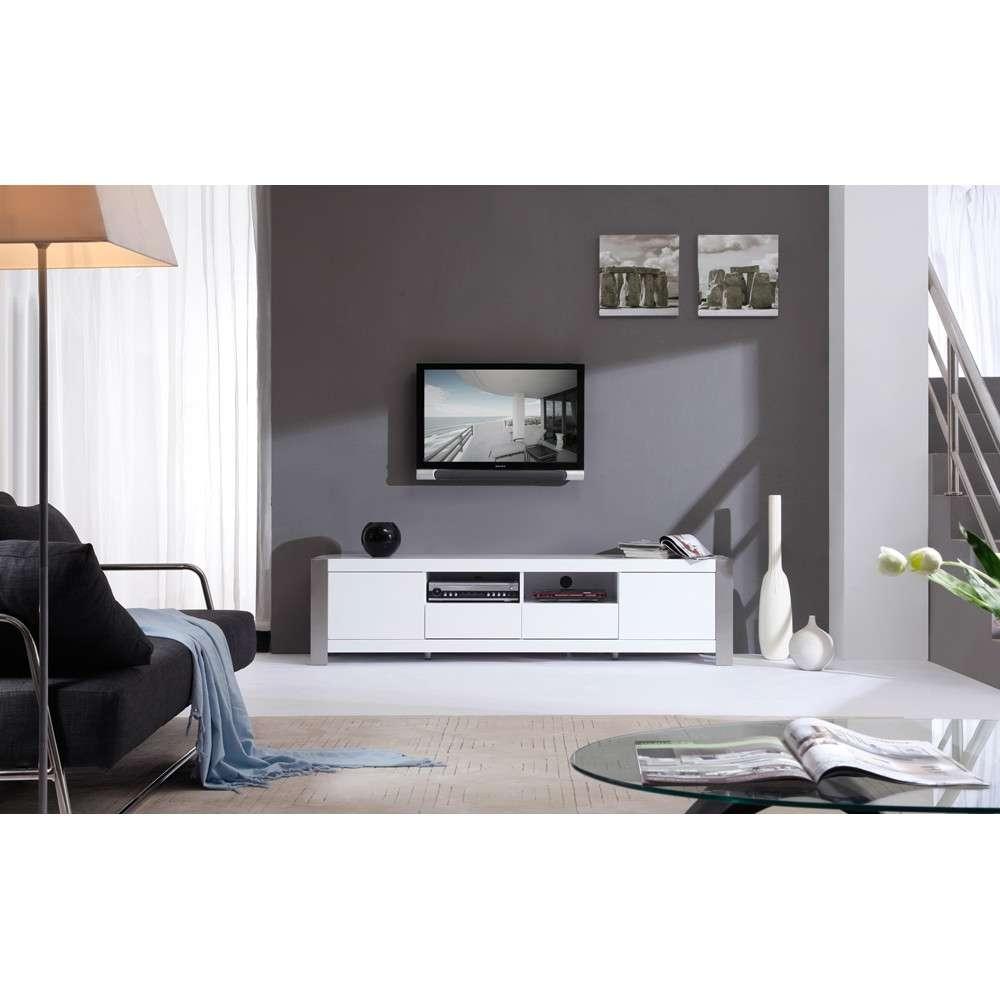 B Modern Composer Tv Stand | White High Gloss, B Modern – Modern For High Gloss White Tv Stands (View 2 of 15)
