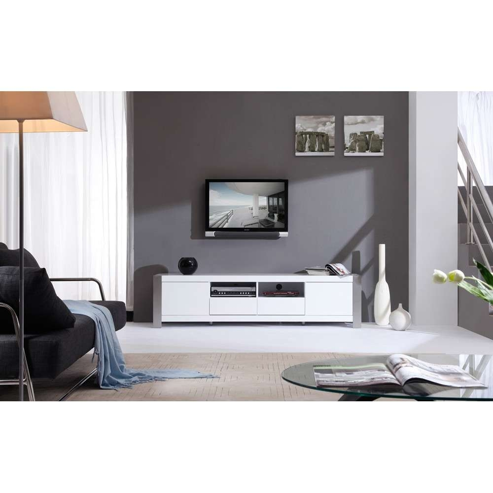 B Modern Composer Tv Stand | White High Gloss, B Modern – Modern For White High Gloss Tv Stands (View 3 of 15)